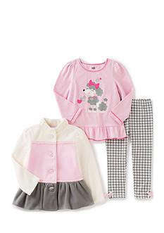 Kids Headqrtrs Inf/Tdlr Poodle Jacket Set Toddler Girls