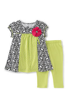 Kids Headquarters 2-Piece Print Legging Set