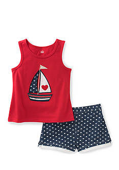 Kids Headquarters 2-Piece Sailboat Tank and Short