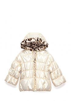 M. Hidary Metallic Puffer Jacket