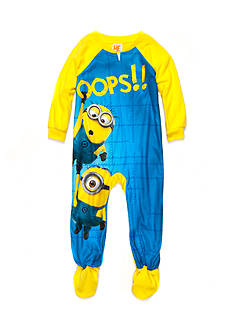 Despicable Me™ Character 1-Piece Footed Sleepwear Toddler Boys