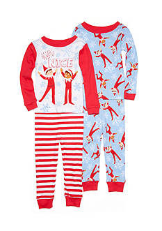 Elf on the Shelf Character 4-Piece Sleepwear Set Toddler Boys