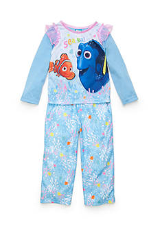 Disney Pixar 4-Piece Finding Dory Pajama Set Toddler Girls