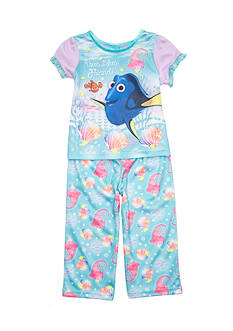 Disney Pixar Dory 2-Piece 'True Blue Friends' Pajama Set Toddler Girls