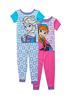 Disney® 4-Piece Frozen Pajama Set Toddler Girls