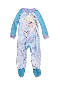 Disney Frozen Footed Pajama Toddler Girls