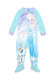 Disney Frozen Footed Pajama Toddler Girls