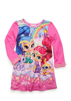 Nickelodeon™ Shimmer and Shine Nightgown Toddler Girls