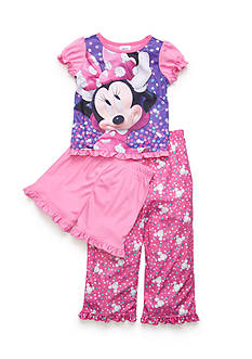 Disney Junior™ 3-Piece Minnie Mouse Pajama Set Toddler Girls