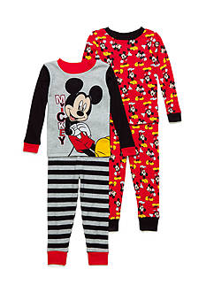 AME 4-Piece Mickey Mouse Pajama Set