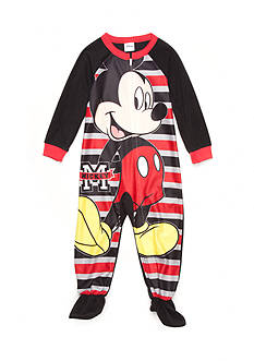 Disney Mickey Mouse Footed Pajama Toddler Boys