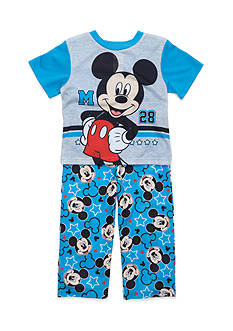 Disney Mickey Mouse All-Star 2-Piece Pajama Set Toddler Boys