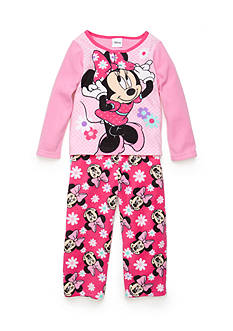 Disney 2-Piece Minnie Mouse Pajama Set Toddler Girls