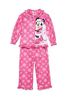 Disney Minnie Mouse Holiday 2-Piece Pajama Set Toddler Girls