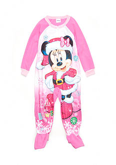 Disney Minnie Mouse Footed Pajama Toddler Girls