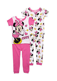 Disney Junior™ Minnie Mouse 4-Piece Pajama Set Toddler Girls