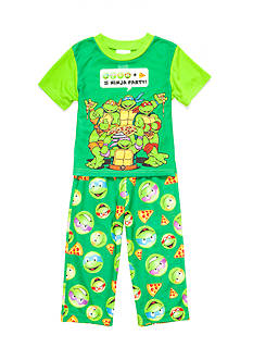 Nickelodeon™ Ninja Turtles Pizza Party 2-Piece Pajama Set Toddler Boys