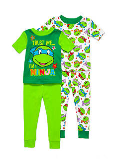 Nickelodeon™ Ninja Turtles 4-Piece Pajama Set Toddler Boys