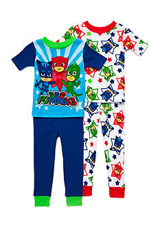 PJ Masks Character 4-Piece Pajama Set Toddler Boys