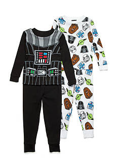 AME 4-Piece Star Wars Pajama Set Toddler Boys
