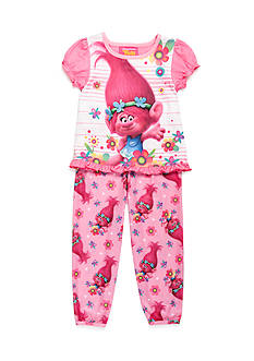 DreamWorks Trolls 2-Piece Pajama Set Toddler Girls