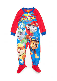 AME Paw Patrol Footed Pajama Toddler Boys