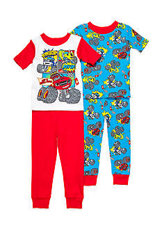 Nickelodeon™ Blaze and the Monster Machines 4-Piece Pajama Set Toddler Boys