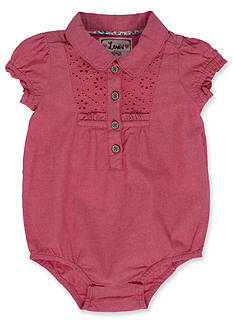 Levi's® Woven Creeper Shirt for Girls