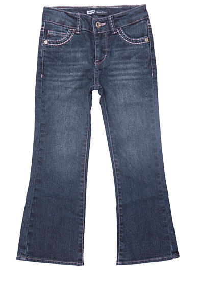 Levi's® Boot Cut Denim Blue Jeans For Toddler Girls