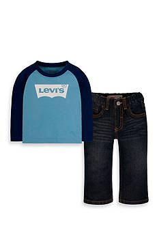 Levi's Knit Shirt and Pant Set for Boys