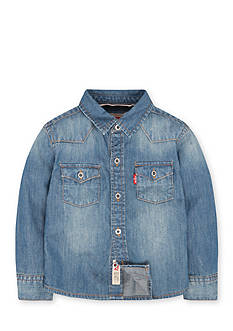 Levi's Barstow Western Shirt Toddler Boys