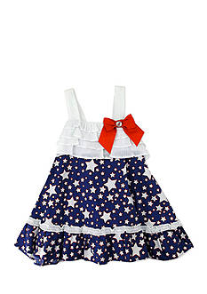 Nannette Stars Sundress Toddler Girls