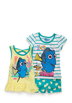Nannette Dory 3-Piece Top And Shorts Set Toddler Girls