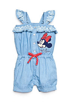 Disney® Chambray Minnie Mouse Romper