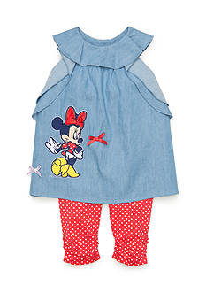 Disney® 2-Piece Chambray Minnie Tunic and Legging Set