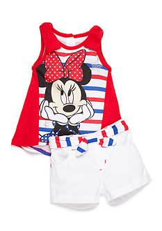 Disney® Red Minnie Short Set