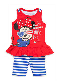 Disney® Red Minnie Sunglasses 2 Piece Leggings Set