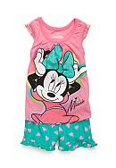 Nannette Minnie 2-Piece Top And Shorts Set