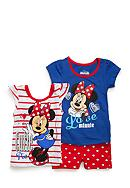 Nannette Minnie 3-Piece Top And Shorts Set