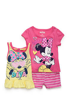 Nannette Minnie 3-Piece Top And Shorts Set Toddler Girls