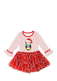Nannette Penguin Tutu Dress Toddler Girls
