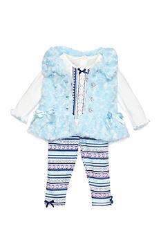 Nannette Infant Girl Three Piece Vest Set