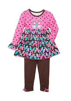 Nannette Butterfly 2-Piece Set Toddler Girls