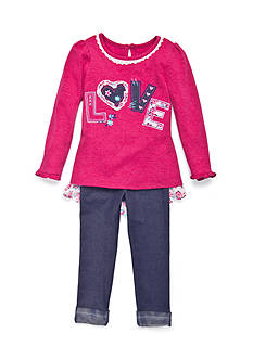 Nannette Love 2-Piece Set Toddler Girls