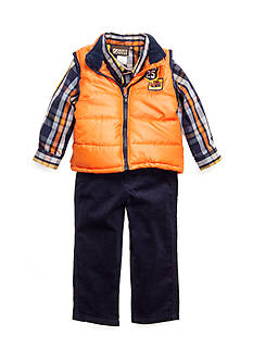 Nannette Vest Woven 3-Piece Set Toddler Boys
