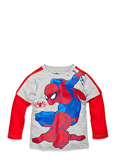 Nannette Long Sleeve Spider-Man Tee Toddler Boys