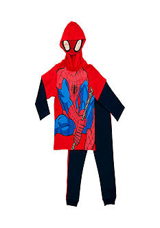 Nannette 2-Piece Spider-Man Hoodie and Pant Set Toddler Boys