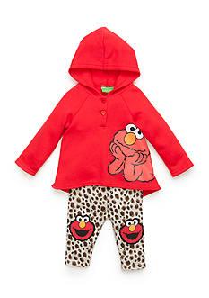 Nannette Elmo Fleece Hoodie Set