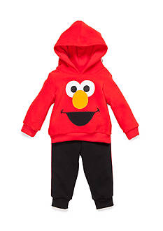 Nannette 2-Piece Elmo Hoodie and Pant Set