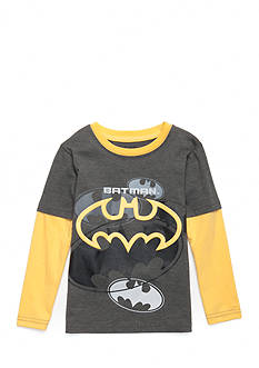 Nannette Batman Long Sleeve Tee Toddler Boys